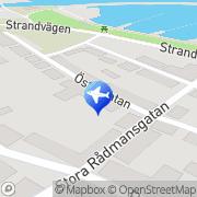 Karta Octavia i Simrishamn Simrishamn, Sverige