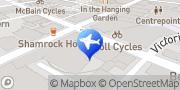 Map Budget Car & Truck Rental Hobart City Hobart, Australia