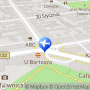 Mapa My Travel Gorzów Wielkopolski, Polska