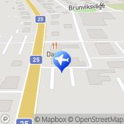 Karta Fröjds Taxi AB Lessebo, Sverige