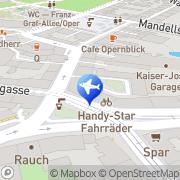 Karte Trafik Priesch Alecsandra Graz, Österreich