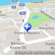 Karte Reise-Quelle Mautern, Österreich
