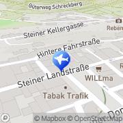 Karte Einzinger Gästehaus Krems an der Donau, Österreich