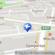 Karta Resebutiken Vadstena Buss AB Linköping, Sverige