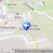Karte JUFA Hotel Gnas Sport-Resort Gnas, Österreich