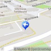 Mapa Delta Legnica, Polska