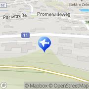 Karte AIRPORT TAXI MÖDLING FLUGHAFENTAXI Mödling, Österreich