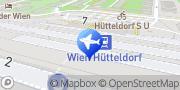 Karte Bahnhof Wien Hütteldorf Wien, Österreich
