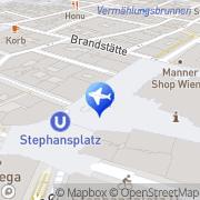 Karte Top Travel Wien, Österreich