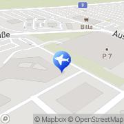 Karte Eva Airways Corporation Wien, Österreich