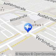 Map Flughafen Wien Vienna, Austria