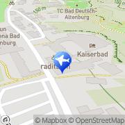 Karte Pension Madle Bad Deutsch-Altenburg, Österreich