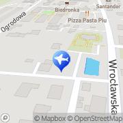 Mapa MPI Sp. z o.o. sp.k. Bielany Wrocławskie, Polska