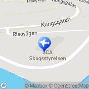 Karta Sollefteå Camping Sollefteå, Sverige