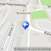 Mapa Taxi Września - Taxi Zet Września Września, Polska