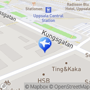 Karta Reseteamet AB Uppsala, Sverige