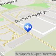 Karta Milan Taxi Stockholm, Sverige