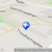 Karta Poone Taxi Stockholm, Sverige