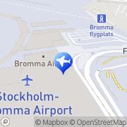 Karta Europcar Stockholm Bromma Flygplats Bromma, Sverige