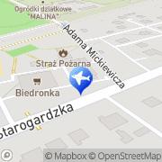 Mapa Dom nad Rzeką Czarna Woda, Polska