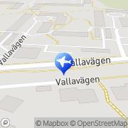 Karta Peter Gard Handen, Sverige