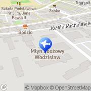 Mapa Multitur Wodzisław Śląski, Polska