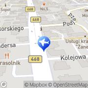 Mapa PTTK Sopot, Polska