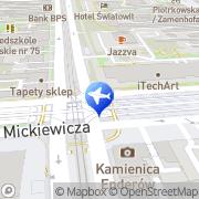 Mapa Autobrothers Łódź, Polska