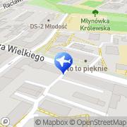 Mapa Godyń Jolanta. Biuro podróży Kraków, Polska