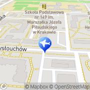 Mapa Go 2 Cracow Kraków, Polska