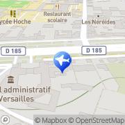 Carte de A et A Elytour Paris Consulting Versailles, France