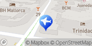 Map Europcar Mallorca Magalluf Hotel Trinidad Sol de Mallorca, Spain