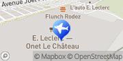 Carte de E.Leclerc Location de Véhicules Onet-le-Château, France