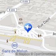 Carte de Taxi Autos Melun, France