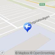 Karta Europcar Umeå Flygplats Umeå, Sverige