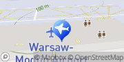 Mapa Location de voitures Aéroport de Varsovie Modlin - InterRent Nowy Dwór Mazowiecki, Polska