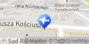 """Mapa """"Euro-Bus"""" Licencjonowane Przewozy Pasażerskie Zbigniew Wach Busko-Zdrój, Polska"""