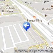 Map Dworzec Centralny Warsaw, Poland