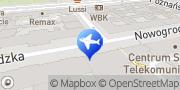 Map Marco Polo Travel Sp. z o.o. Warsaw, Poland