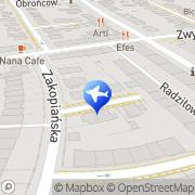 Mapa Sol-Invest Warszawa, Polska