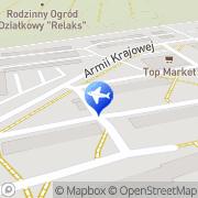 Mapa Delta Taxi Ostrowiec Świętokrzyski, Polska
