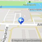 Kartta Taxi Tapio Savikangas Rauma, Suomi