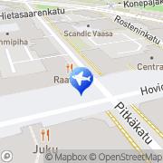 Kartta Matkatoimisto Matka-Vekka Oy Vaasa, Suomi