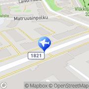 Kartta JPS-Taksipalvelu Turku, Suomi
