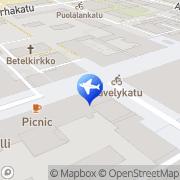 Kartta Finnmatkat Turku, Suomi