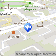 Kartta Aurarent Turku, Suomi