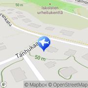 Kartta Taksit Roine Oy Paattinen, Suomi