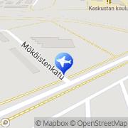 Kartta Hotelli Marent Huoneistohotelli Salo, Suomi