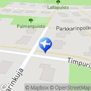 Kartta Taksi Potila Väinö Alavus, Suomi