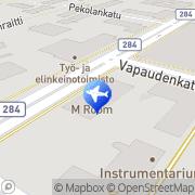 Kartta Forssan Matkatoimisto Oy Forssa, Suomi
